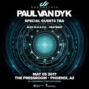 Dreamstate presents: Paul van Dyk in Phoenix on 05/05/17