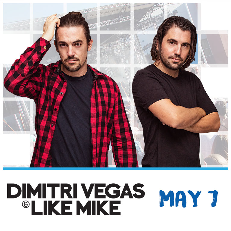 Flyer for Dimitri Vegas & Like Mike