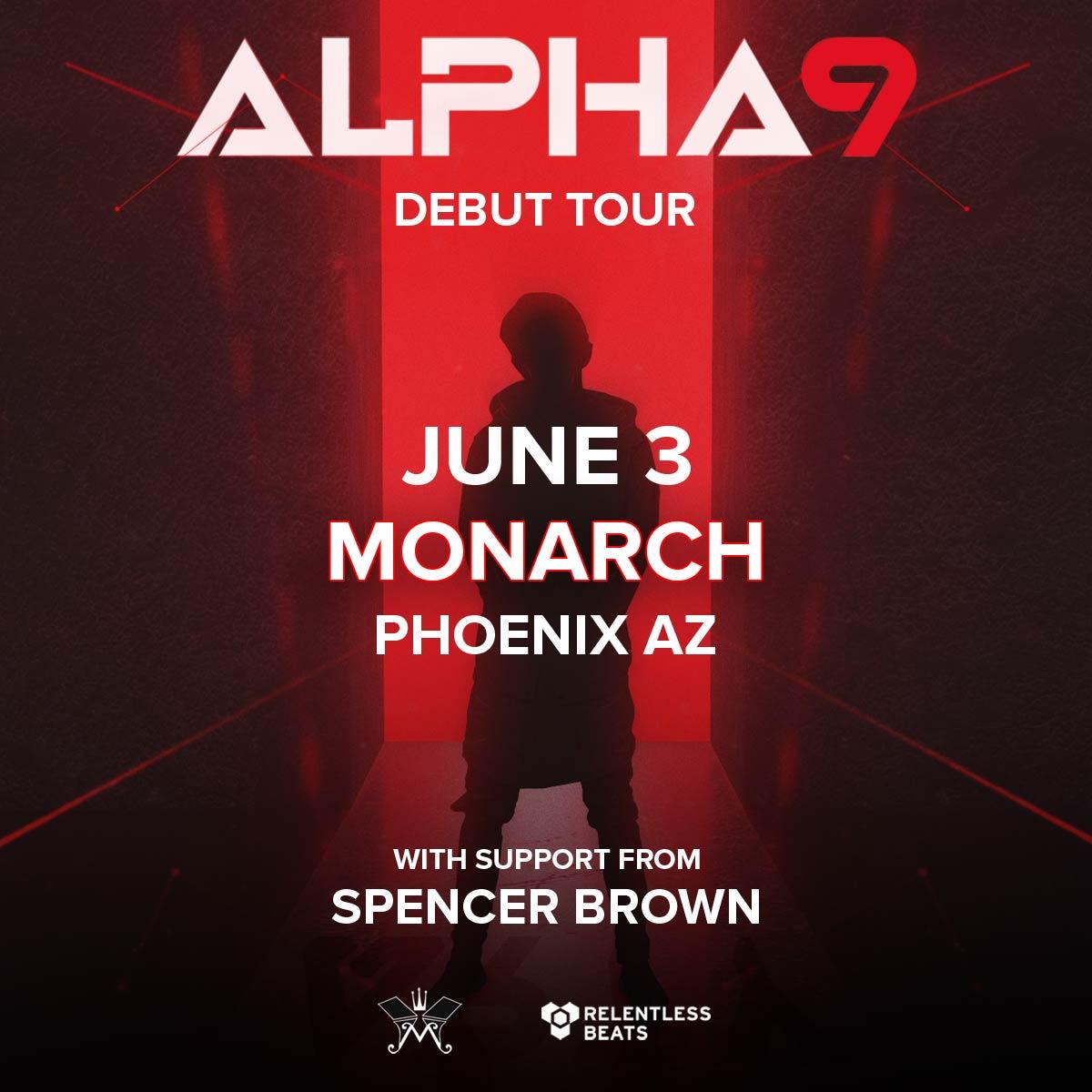 Flyer for Alpha 9