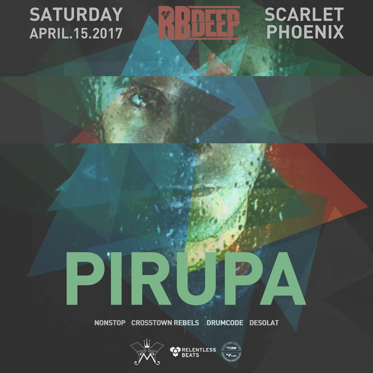 Flyer for Pirupa