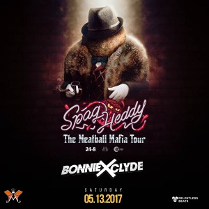 Spag Heddy + Bonnie X Clyde on 05/13/17