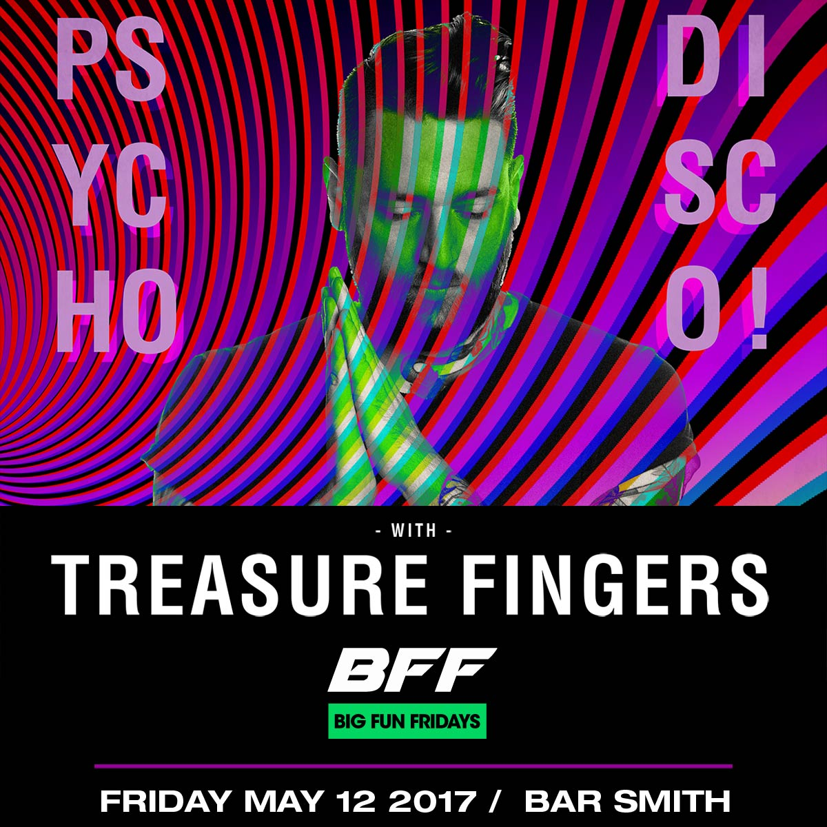 Flyer for Treasure Fingers - BFF