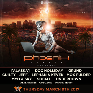 Phoenix Lights presents First Encounters DJ Competition on 03/09/17