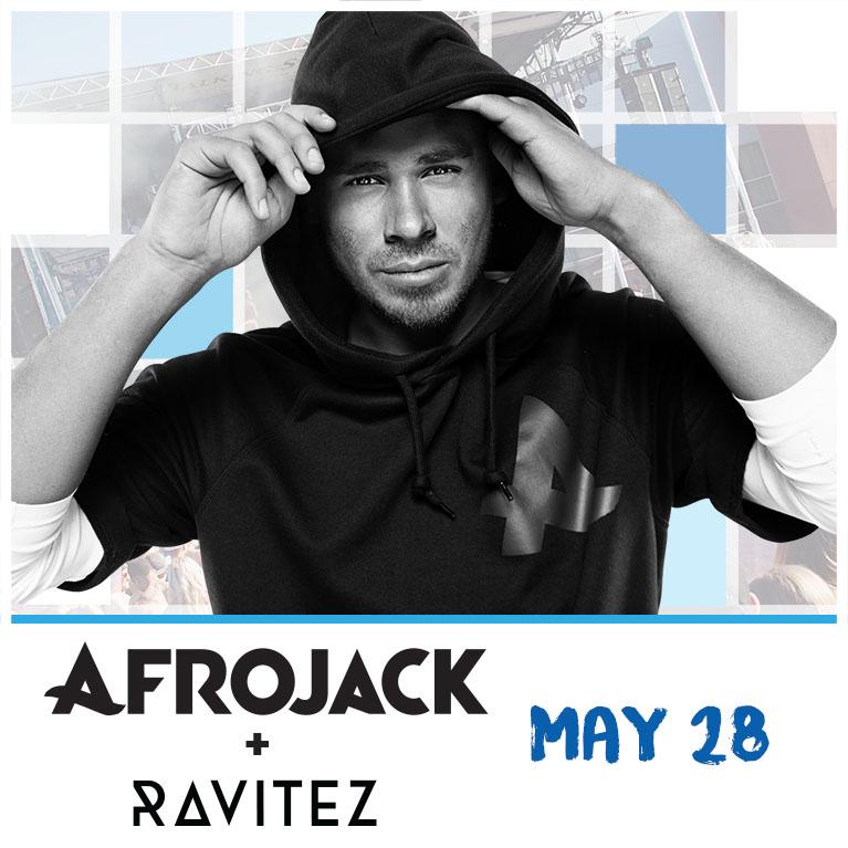 Flyer for Afrojack + Ravitez