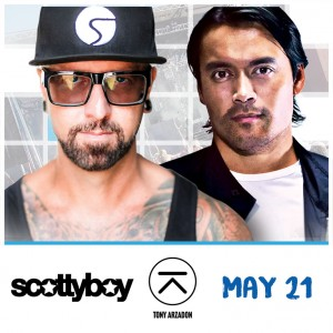 Scotty Boy + Tony Arzadon on 05/21/17