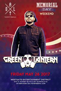 Green Lantern on 05/26/17