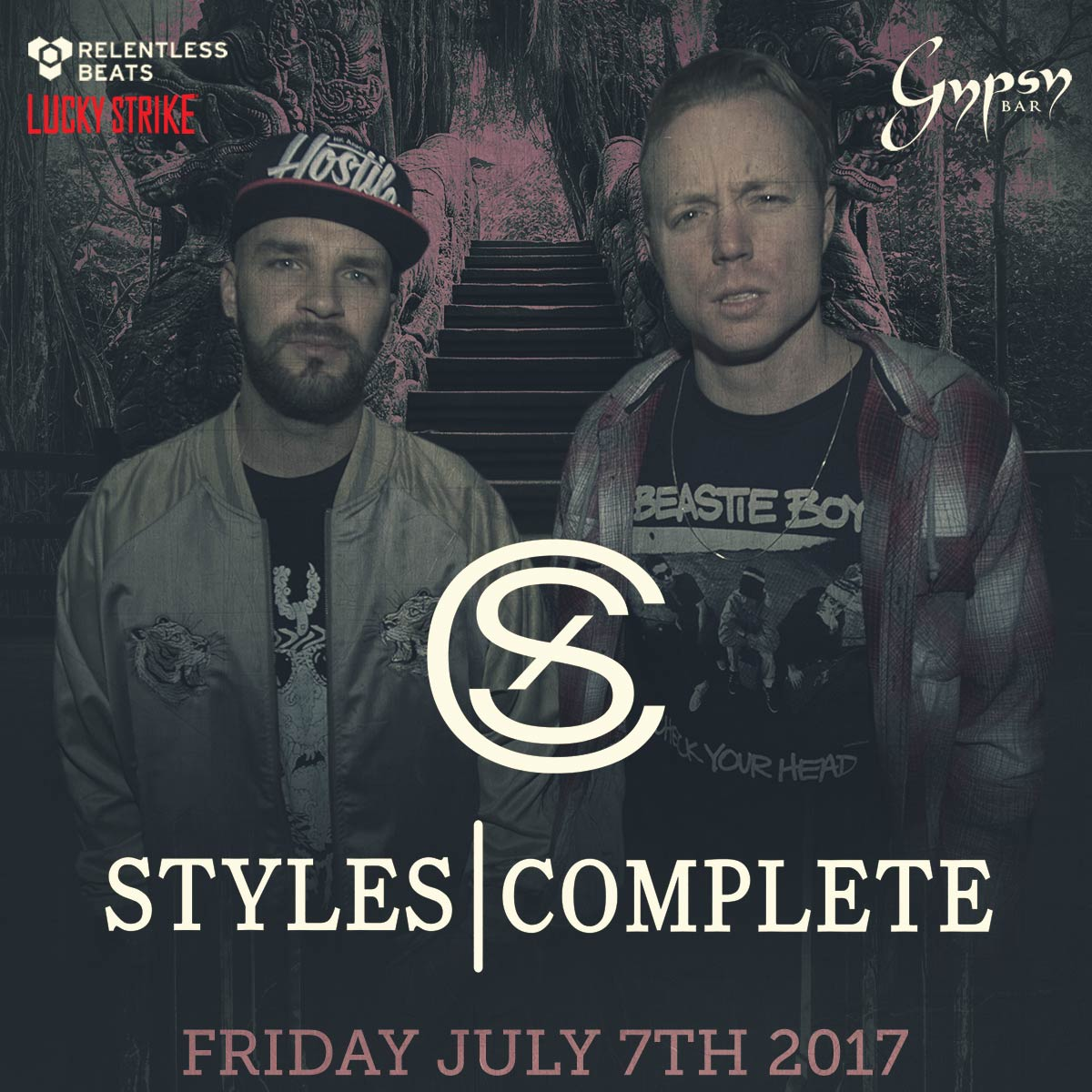 Flyer for Styles & Complete