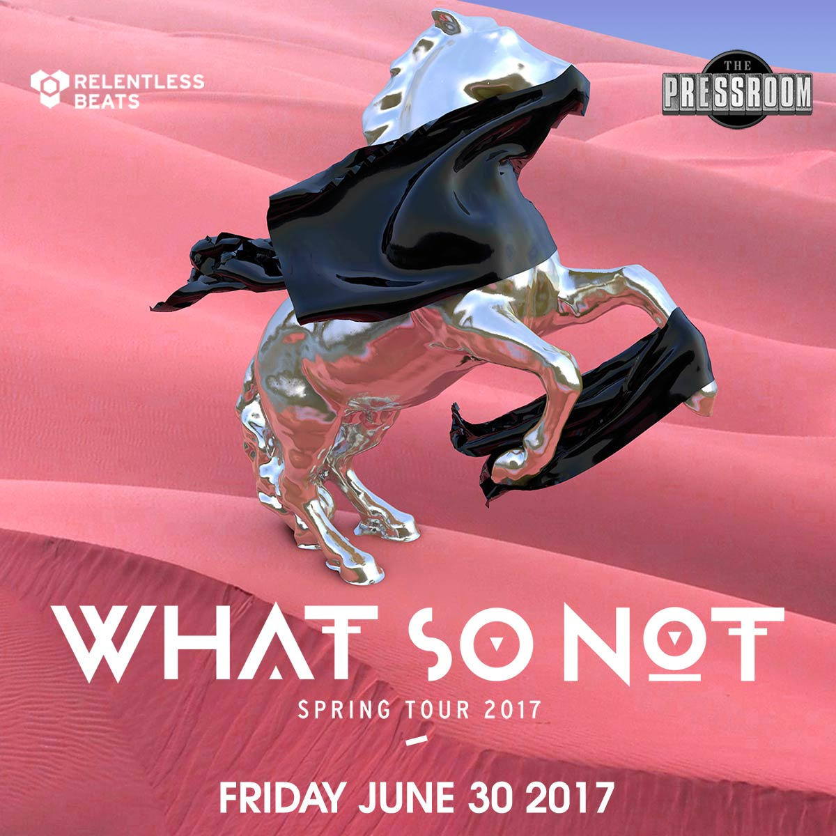 Flyer for What So Not