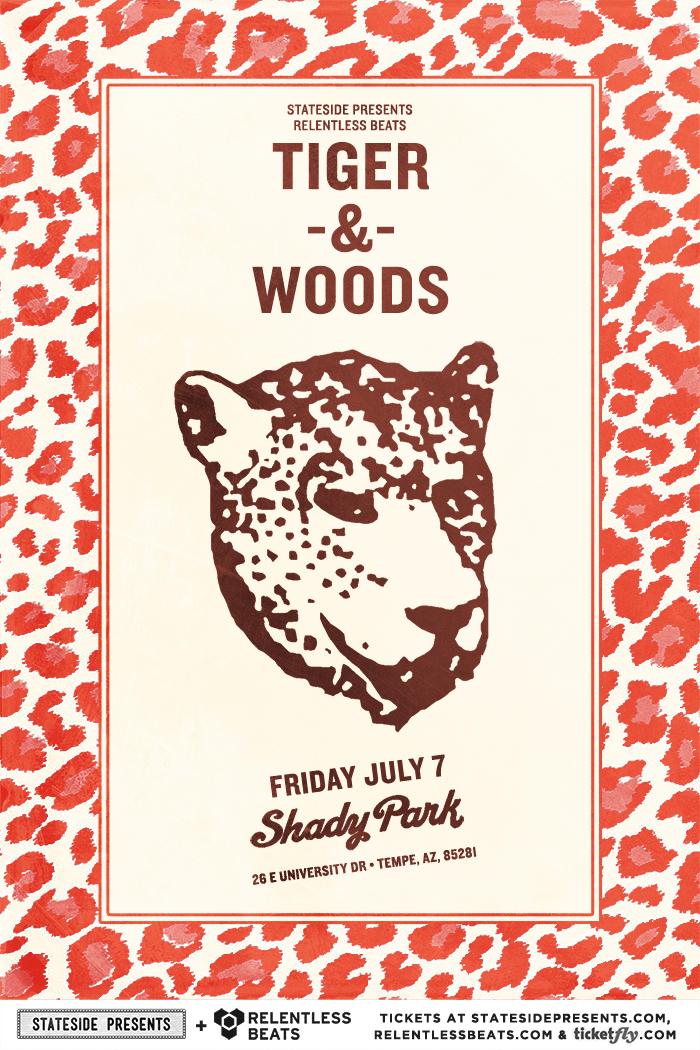 Flyer for Tiger & Woods