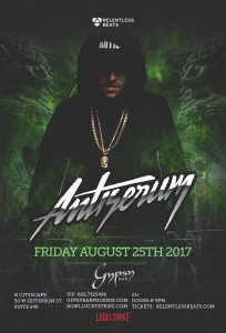 Antiserum on 08/25/17