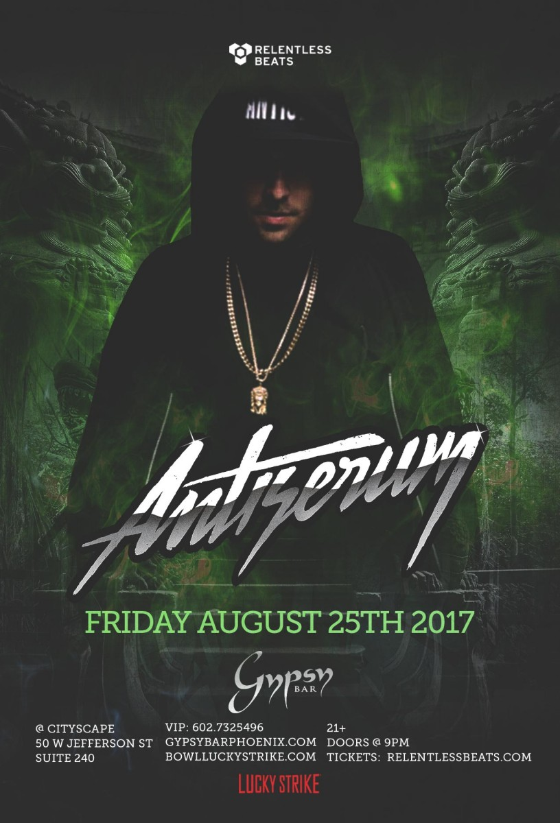 Flyer for Antiserum