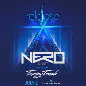 Nero + Tommy Trash at Release Pool Party on 07/02/17