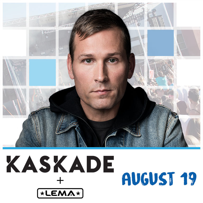 Flyer for Kaskade at Release Pool Party