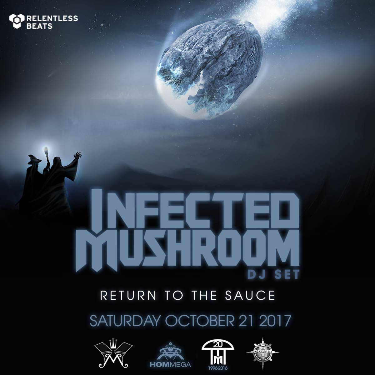 Flyer for Infected Mushroom (DJ Set)