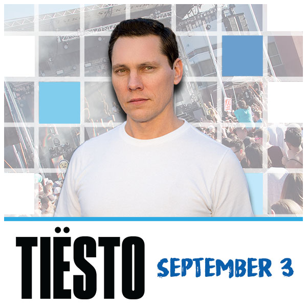 Flyer for Tiesto at Release Pool Party