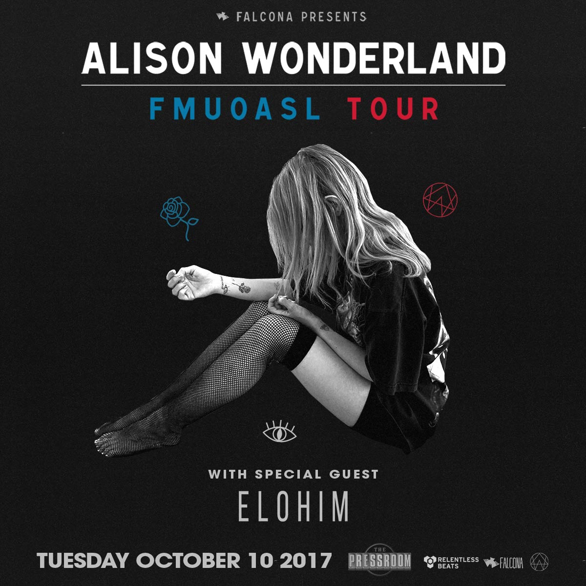 Flyer for Alison Wonderland - Phoenix