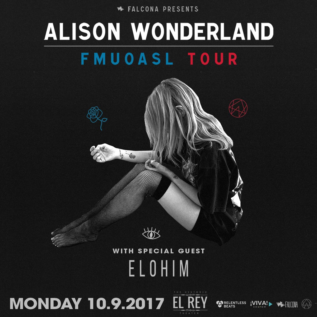 Flyer for Alison Wonderland - Albuquerque