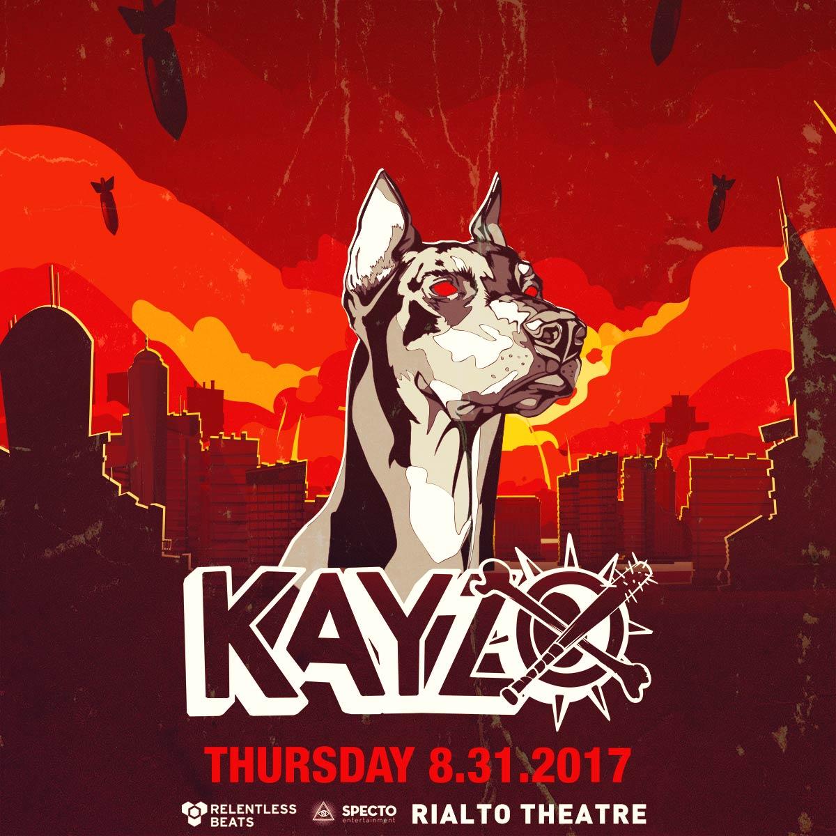 Flyer for Kayzo