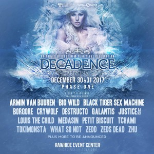 Decadence Arizona 2017 on 12/30/17