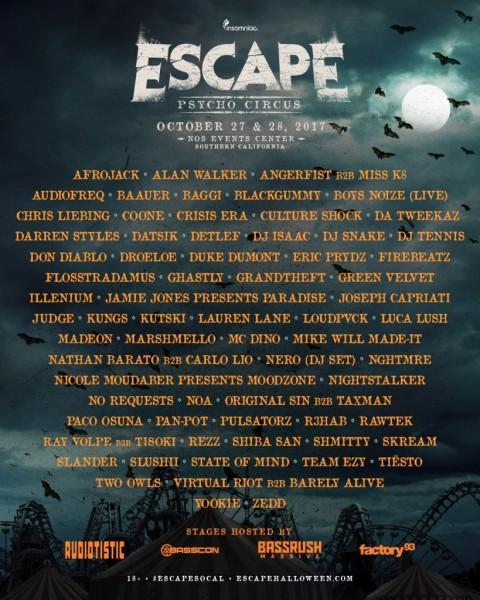 Escape-Psycho-Circus-2017-Lineup