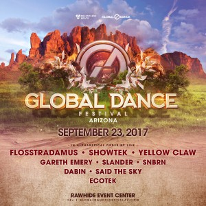 Global Dance Festival - Arizona 2017 on 09/23/17