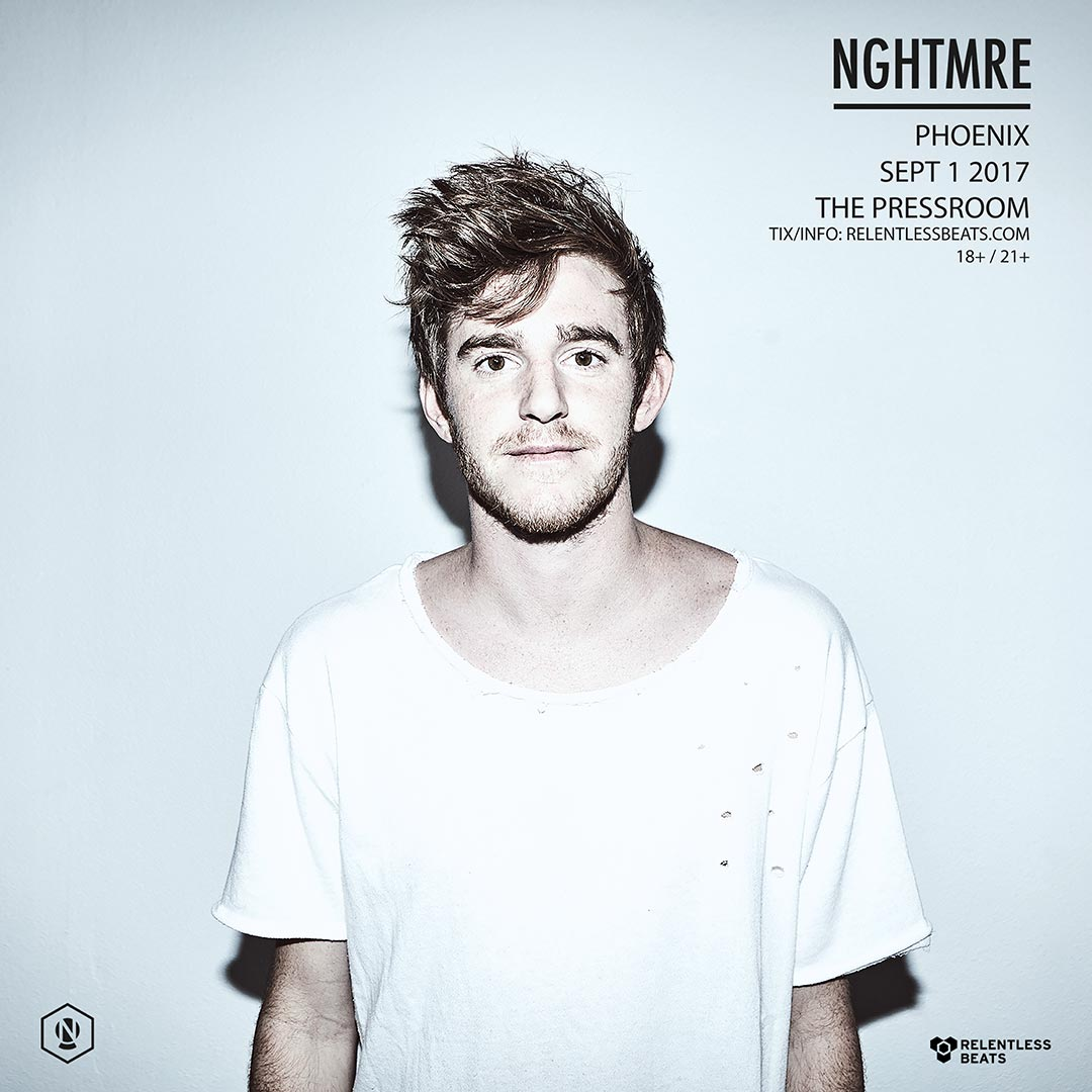 Flyer for NGHTMRE