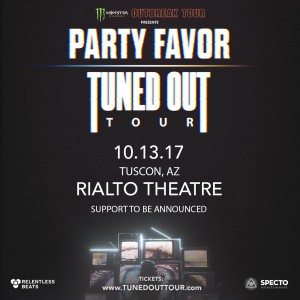 Monster Outbreak Tour Presents: Party Favor on 10/13/17