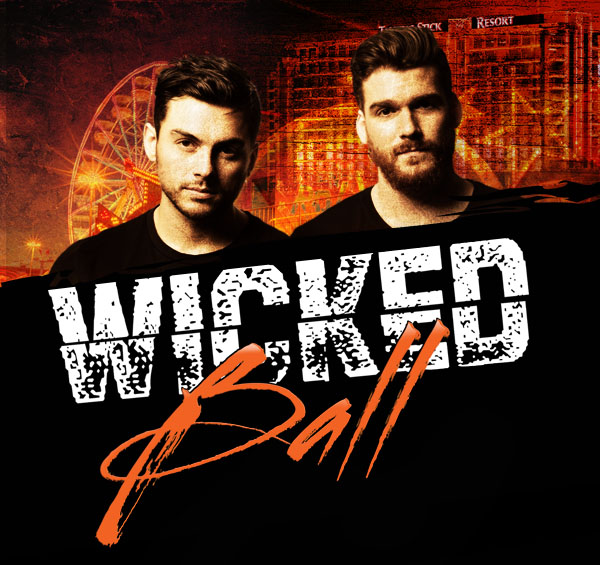 Flyer for Wicked Ball 2017 ft. Adventure Club & The Him