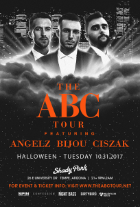 ABC Tour: Angelz, Bijou, & Ciszak - Tempe on 10/31/17