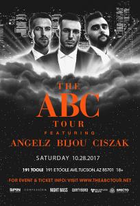 ABC Tour: Angelz, Bijou, & Ciszak - Tucson on 10/28/17