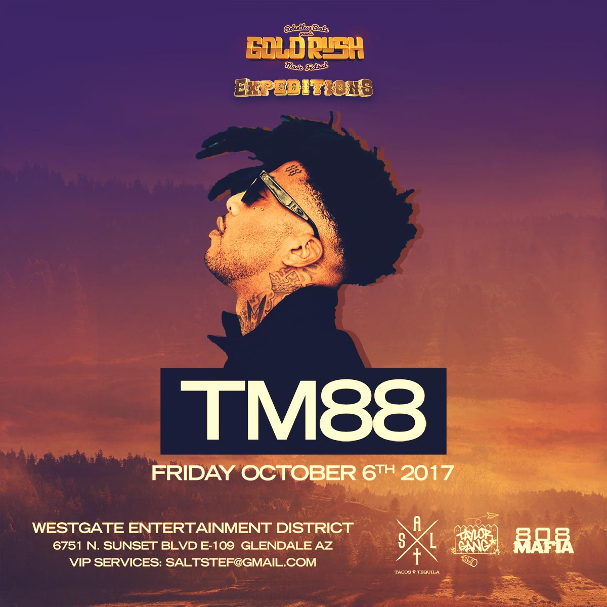 Flyer for TM88 - Goldrush Expeditions