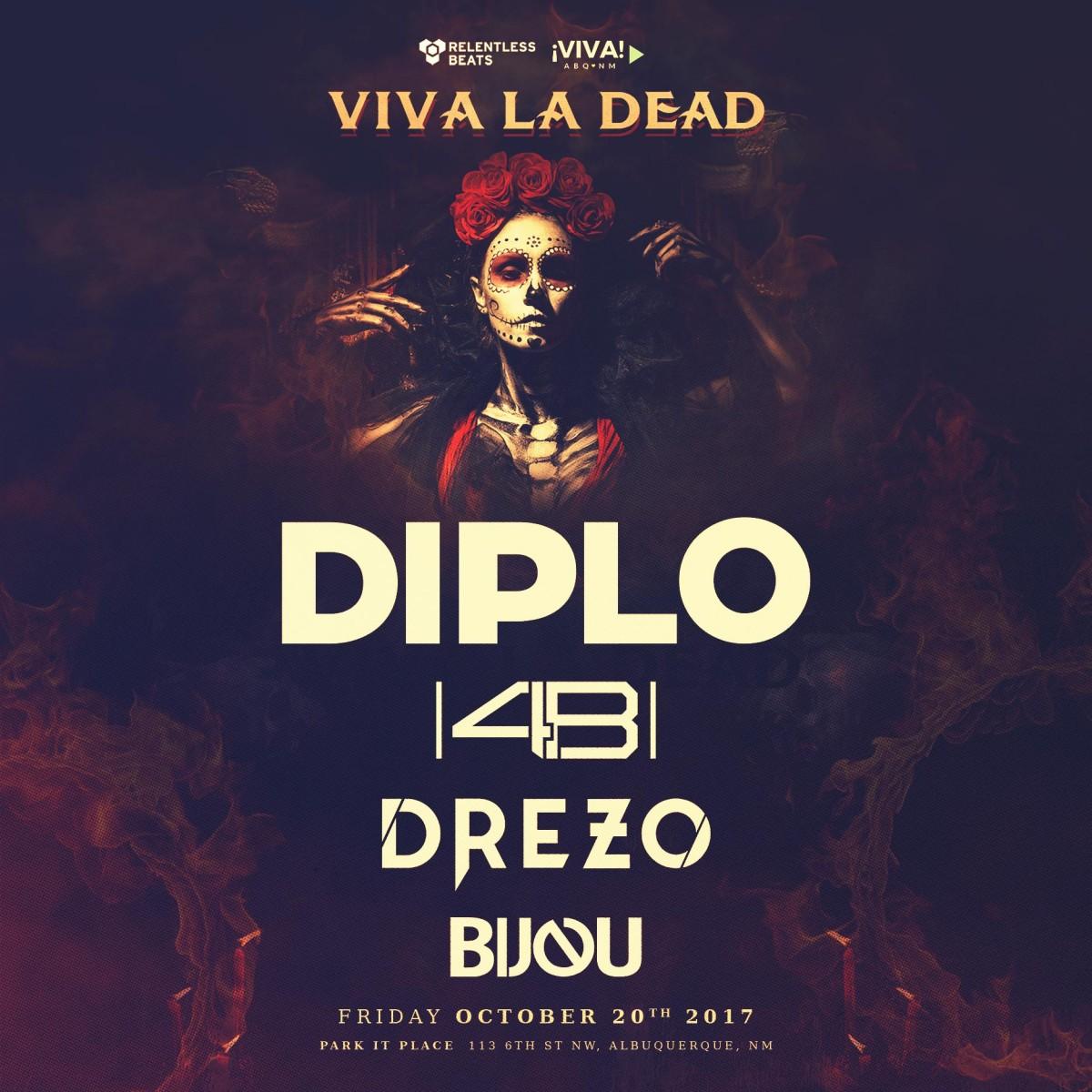 Flyer for Viva La Dead 2017
