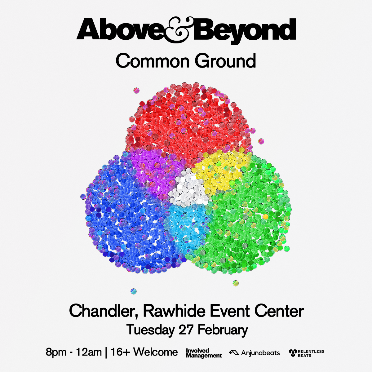 Flyer for Above & Beyond: Common Ground