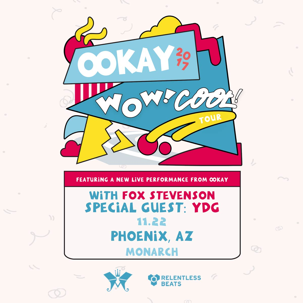 Flyer for Ookay (Live)