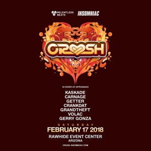 Crush Arizona 2018 on 02/17/18