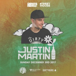 Justin Martin at TreeHouse Sundays on 12/03/17