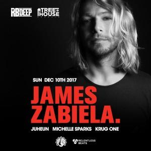 James Zabiela at TreeHouse Sundays on 12/10/17