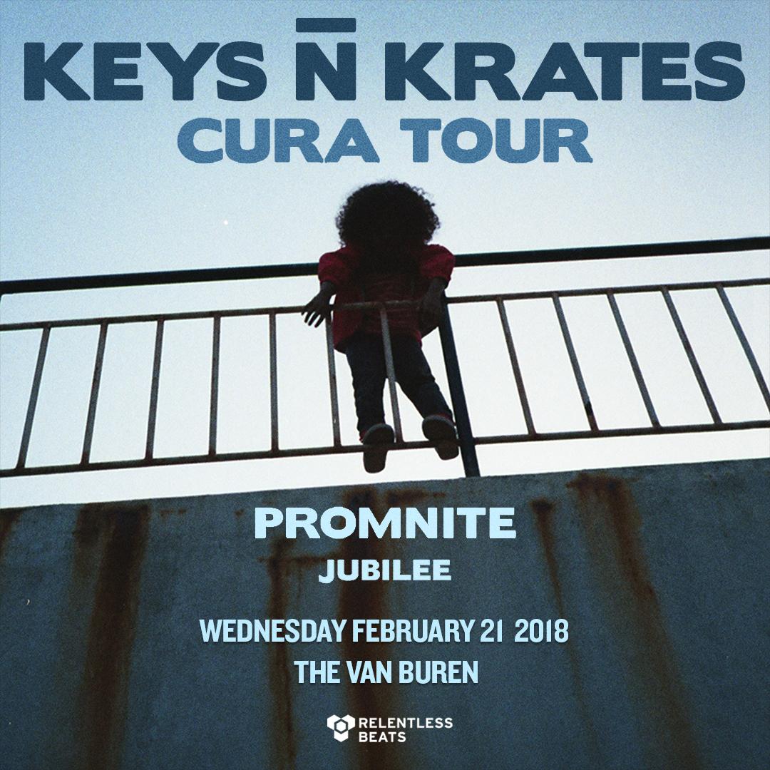Flyer for Keys N Krates Cura Tour: Phoenix