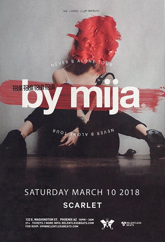 Flyer for Mija