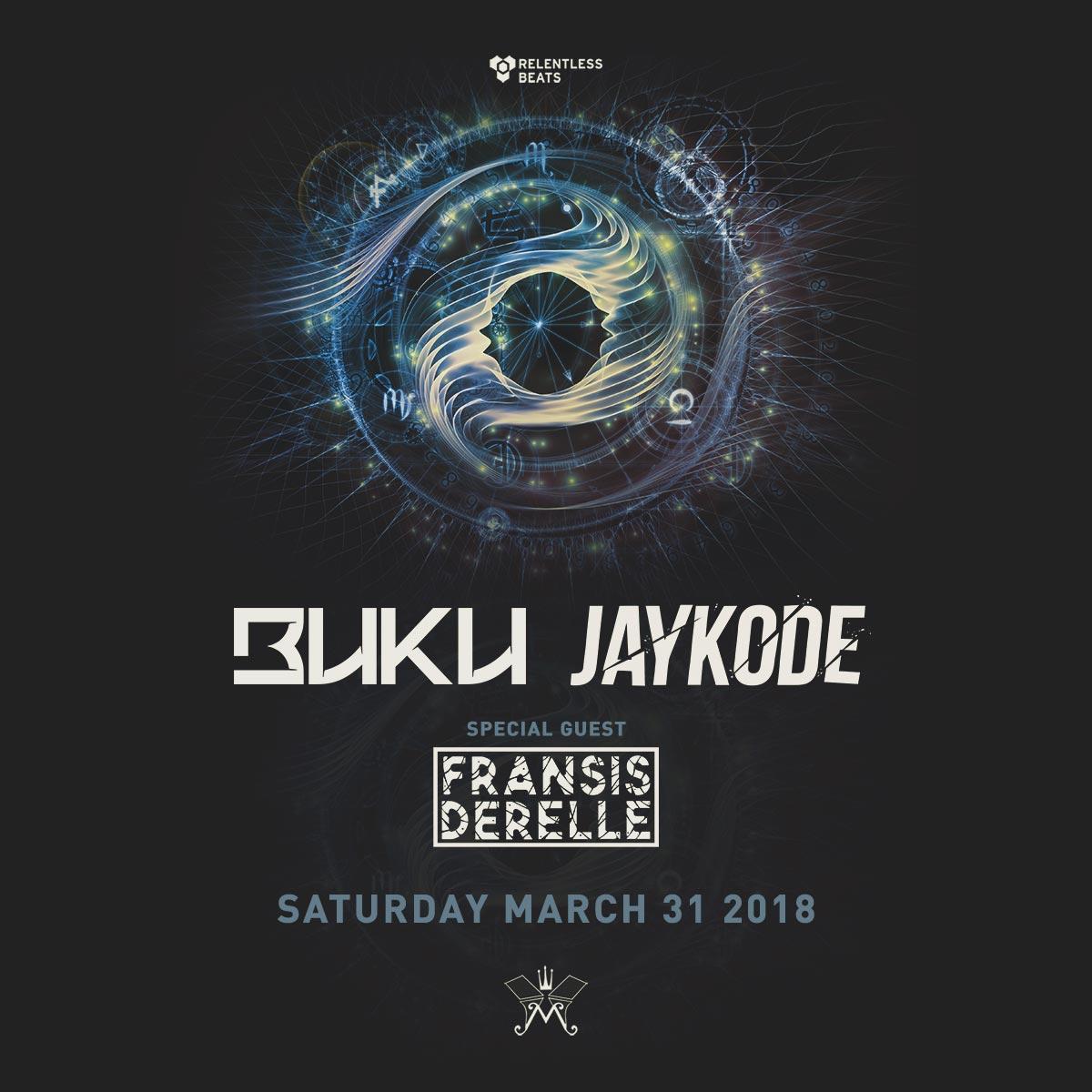 Flyer for Buku + Jaykode
