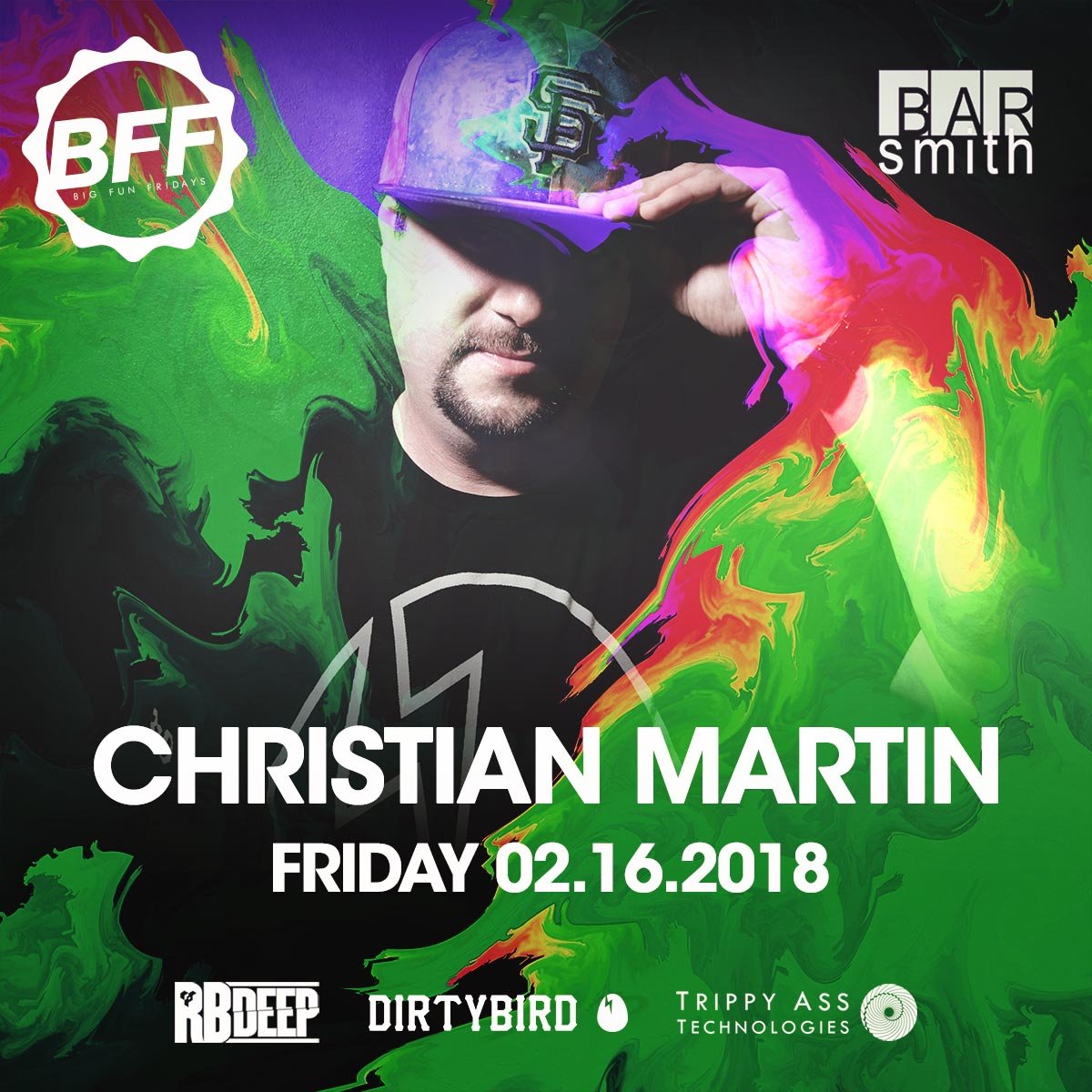 Flyer for Christian Martin - BFF