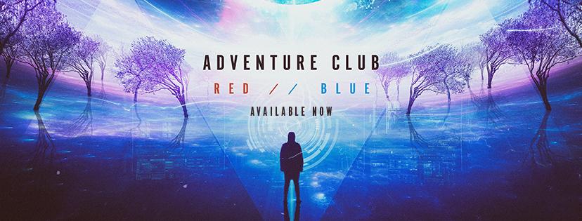 adventure club red :: blue album banner
